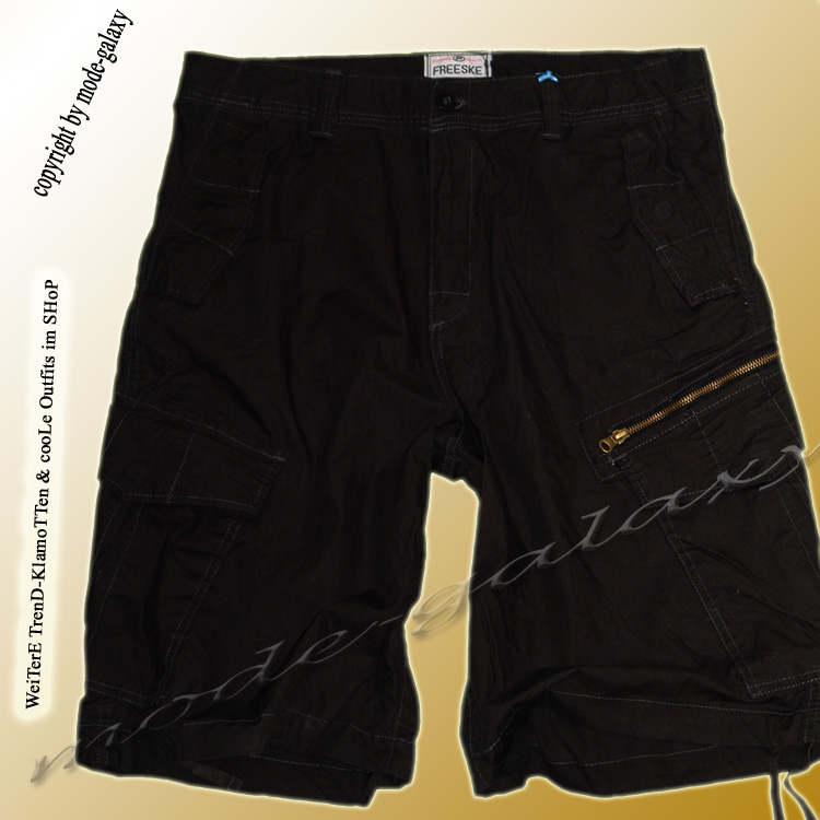zu HerreN BerMuDa 3/4 Hose *Cargo*schwarz * Shorts Sommerhose Gr.M-3XL ...
